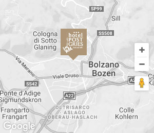 Hotel in Bolzano / Bozen – Arrival to Hotel Post Gries
