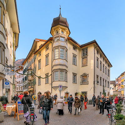 Sights and culture in Bolzano, the capital of South Tyrol